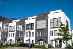 新的露台的住房 免版税库存图片