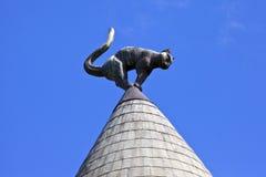 Дом кота в Риге Стоковое фото RF