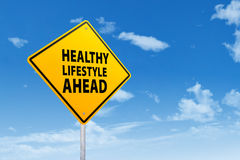 健康生活方式的标志 图库摄影