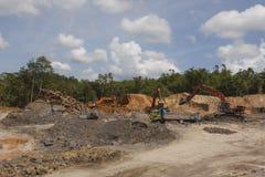 砍伐森林环境问题 图库摄影