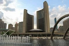 Здание муниципалитет Торонто Стоковое Фото