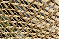 Ξύλινη κατασκευή Στοκ εικόνα με δικαίωμα ελεύθερης χρήσης