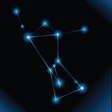 猎户星座星座 库存图片