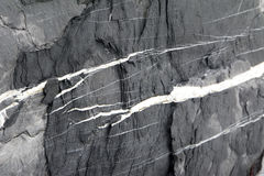 черный утес Стоковая Фотография RF