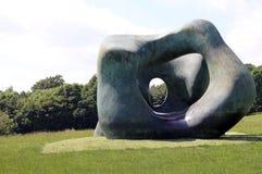 约克夏雕塑公园 库存照片
