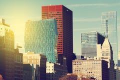 διάνυσμα οριζόντων σχεδίου πόλεων ανασκόπησής σας Στοκ εικόνες με δικαίωμα ελεύθερης χρήσης