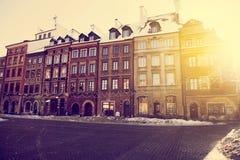 Παλαιά πόλη της Βαρσοβίας, Πολωνία Στοκ Φωτογραφία