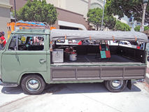 大众卡车 免版税库存照片