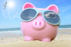 Χρήματα διακοπών Στοκ φωτογραφία με δικαίωμα ελεύθερης χρήσης