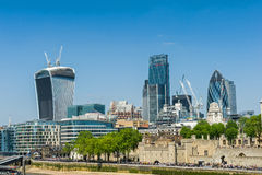 都市风景伦敦 库存照片