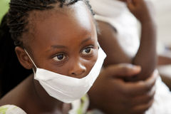 Ασθενείς των παιδιών φυματίωσης Στοκ φωτογραφία με δικαίωμα ελεύθερης χρήσης
