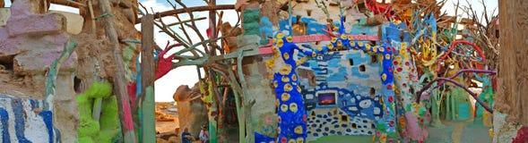 Гора спасения - внутренние детали - панорама Стоковое Изображение