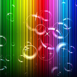 Το υπόβαθρο φυσαλίδων αντιπροσωπεύει το χρώμα και την περίληψη σχεδίου Στοκ Εικόνες