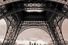 浏览埃菲尔在巴黎 库存图片