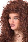 可爱的红头发人 免版税库存图片