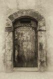 古老门,摩洛哥 库存图片