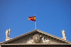 军事政府的巴塞罗那西班牙 免版税库存照片