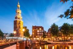 Взгляды Амстердама Стоковое фото RF