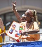 Гей-парад март Нью-Йорка Стоковые Фотографии RF