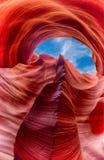 槽峡谷 免版税库存图片