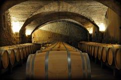 法国葡萄酒库 免版税库存照片