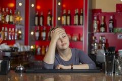 κορίτσι που κουράζεται Στοκ φωτογραφίες με δικαίωμα ελεύθερης χρήσης