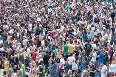 люди толпы Стоковое фото RF
