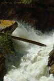 瀑布在库班河州农业大学 库存照片