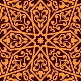 伊斯兰教或阿拉伯无缝的样式 库存照片