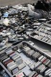 Ε-απόβλητα Στοκ Εικόνες