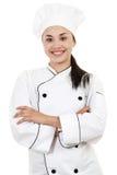 女性厨师 免版税库存图片