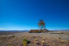军事雷达设施 免版税库存照片
