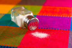 Разлитое соль Стоковые Изображения RF