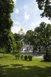 克里姆林宫的大教堂在莫斯科 免版税库存图片
