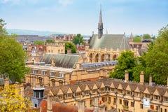 牛津 英国 免版税库存照片