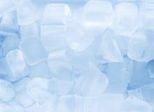 多维数据集冰熔化 免版税库存图片