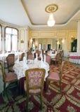 用餐典雅的空间 免版税库存照片