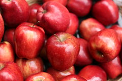κόκκινο μήλων Στοκ φωτογραφία με δικαίωμα ελεύθερης χρήσης