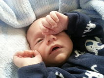 Время ворсины для младенца Стоковое фото RF
