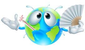 概念全球性变暖 库存图片