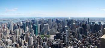 城市曼哈顿中间地区纽约 库存图片