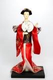 Ιαπωνική κούκλα Στοκ φωτογραφία με δικαίωμα ελεύθερης χρήσης