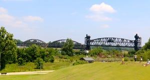 克林顿总统公园桥梁 免版税图库摄影