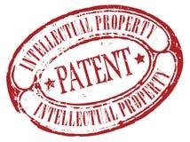 专利邮票 免版税库存照片