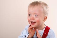 мальчику нужны специальные детеныши Стоковая Фотография RF