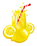 例证柠檬水 库存图片