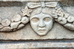 Греческая маска театра Стоковое Фото
