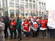 απεργία της Γερμανίας Στοκ φωτογραφίες με δικαίωμα ελεύθερης χρήσης