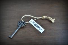 ключ счастья к Стоковые Фотографии RF