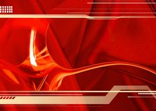 красный цвет фона Стоковые Фото